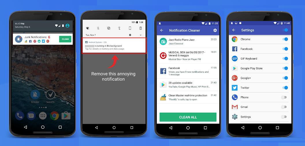 приложение для блокировки пуш уведомлений на андроид